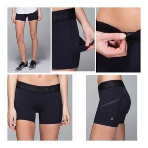 lululemon athletica What the Sport Short - Black